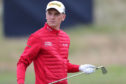 Sam Locke was the early leaders at the Tartan Pro Tour's inaugural event, The Carnoustie Challenge