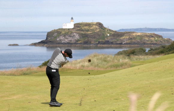 Rory McIlroy at Renaissance at last year's Scottish Open.