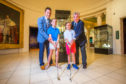 Rick Valentine (grandson), his children Ashleigh Valentine (aged 11) and Nicholas Valentine (aged 8, all from Mussleburgh) and Iain Valentine