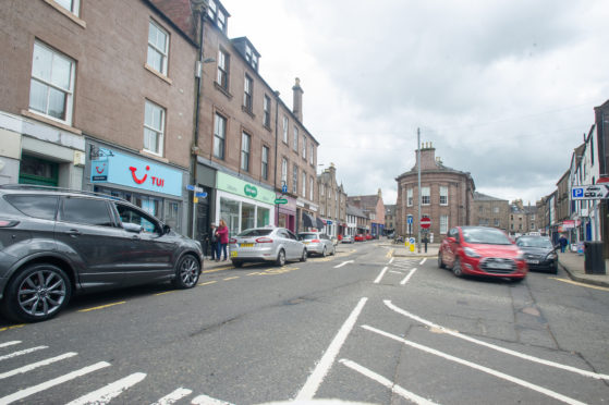 There are calls for CCTV in Castle Street in Forfar after the vandals' rampage.