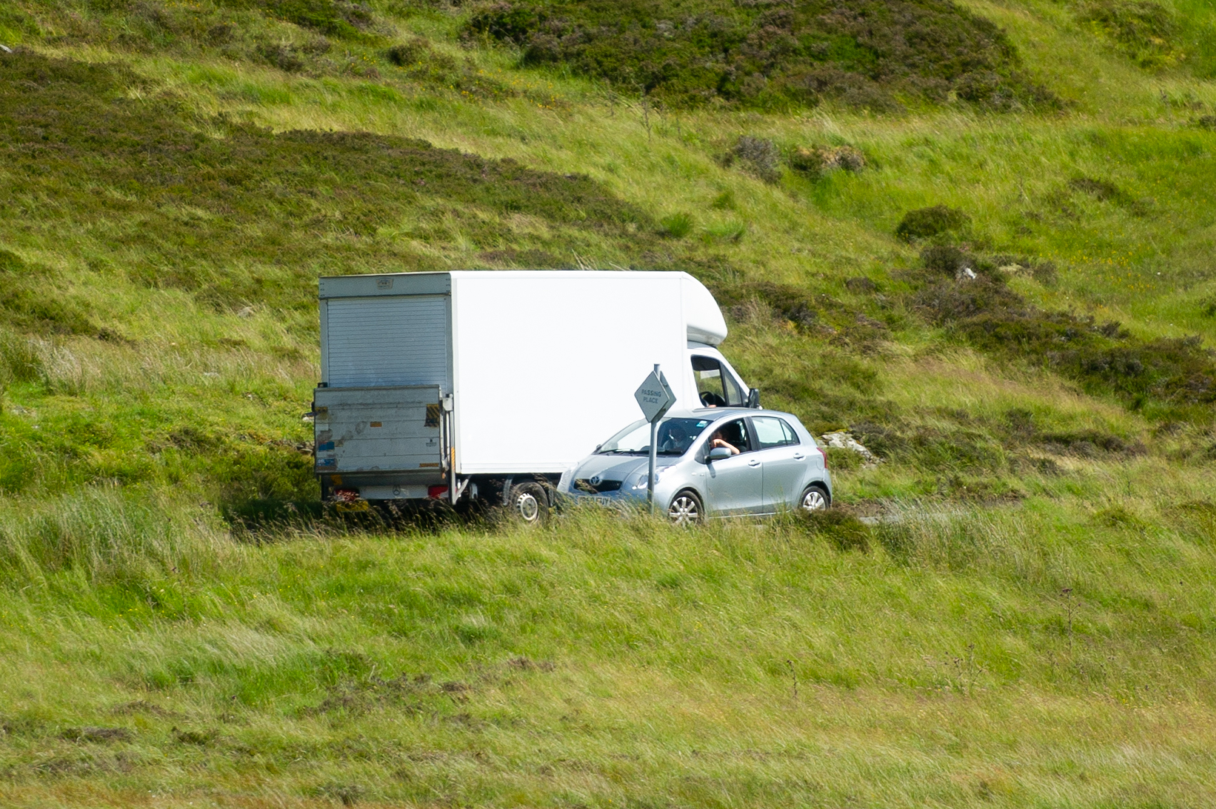 Perth and Kinross Council says it plans to formalise more passing places.