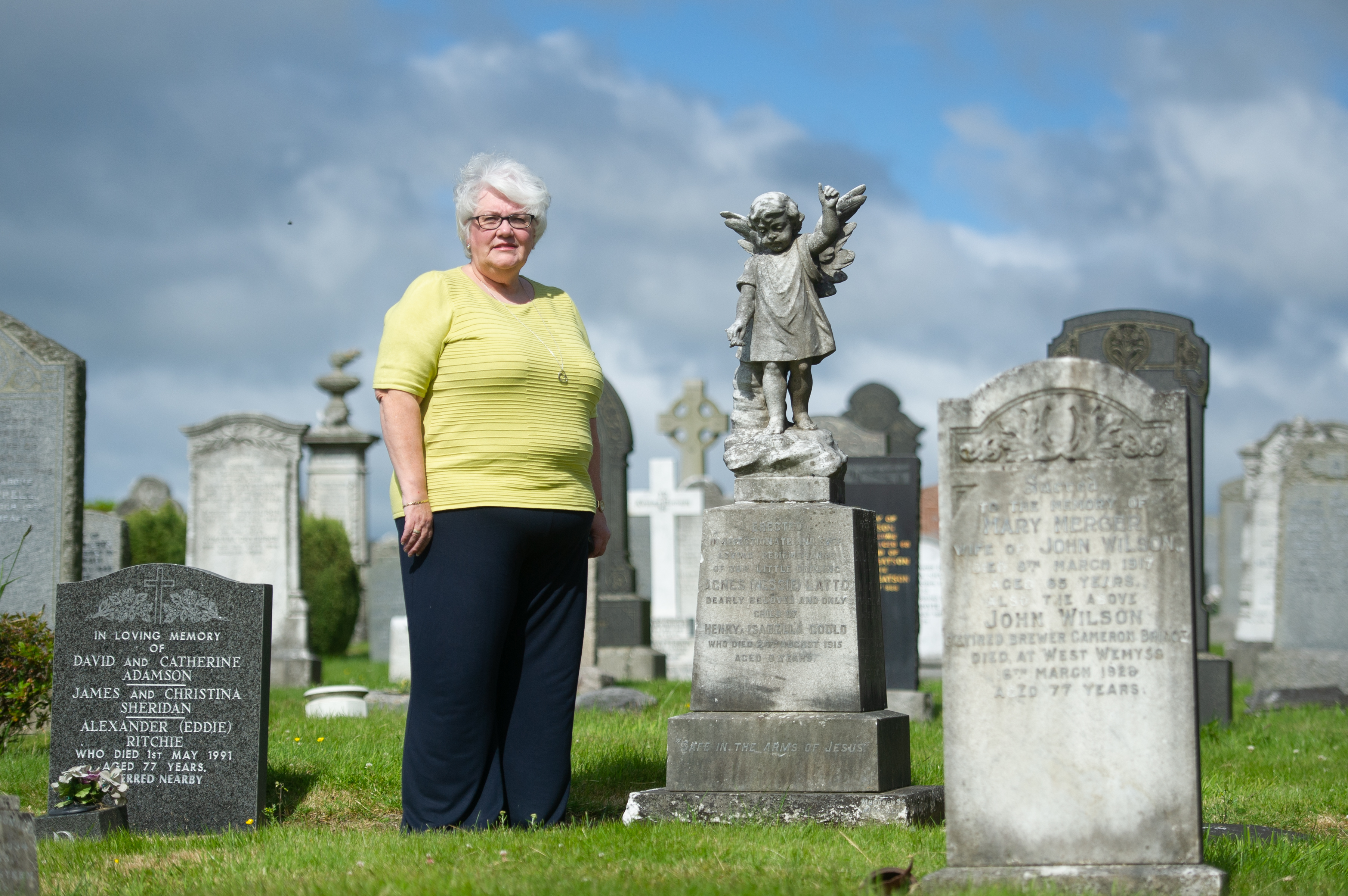 Linda Ballingall has called for a cemetery in Glenrothes