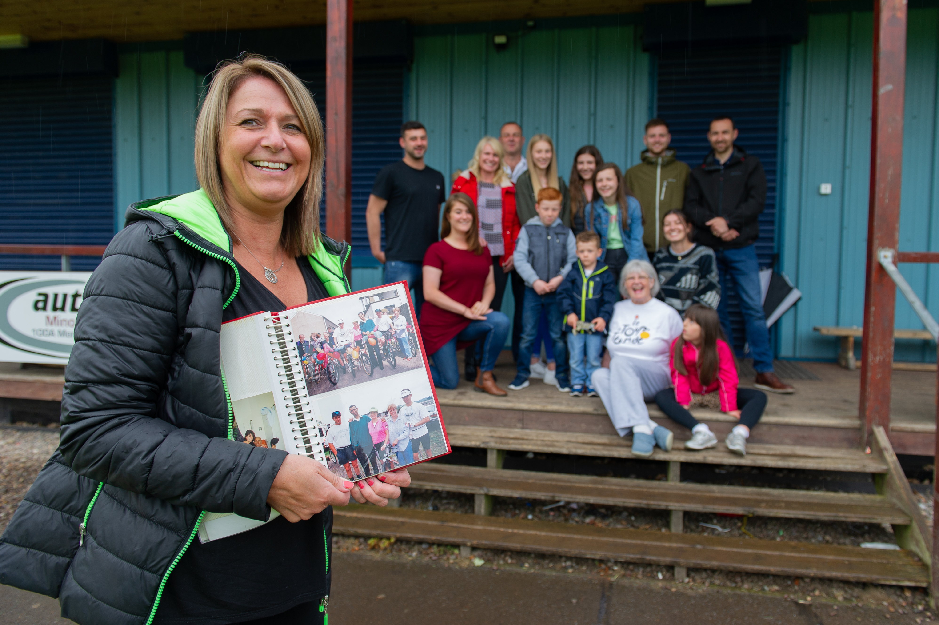 Joe Russo's daughter, Alison Brown, and the family are hoping for good support for the fifth Tour de Tayside.