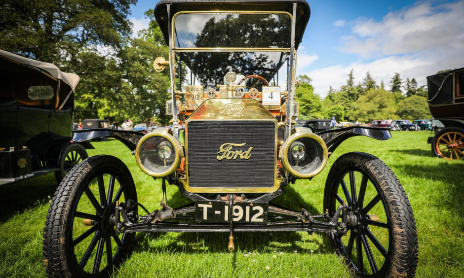 A 1912 Ford.