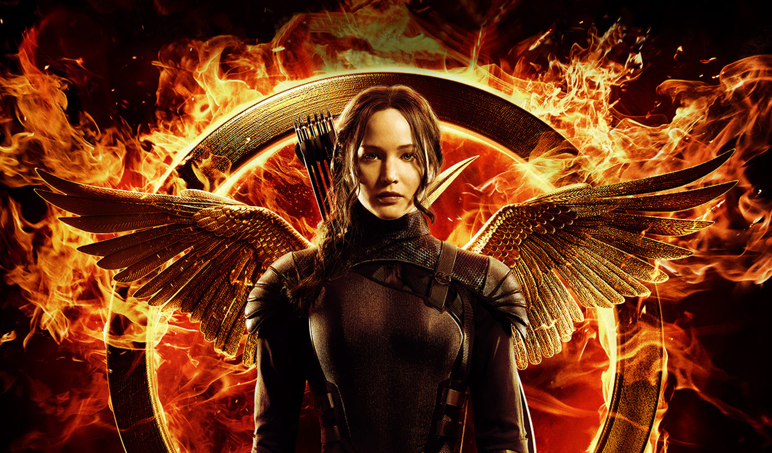 Katniss Everdeen was played by Jennifer Lawrence in The Hunger Games.