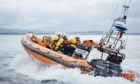 Kinghorn Lifeboat aided a massive search for the kayaker.