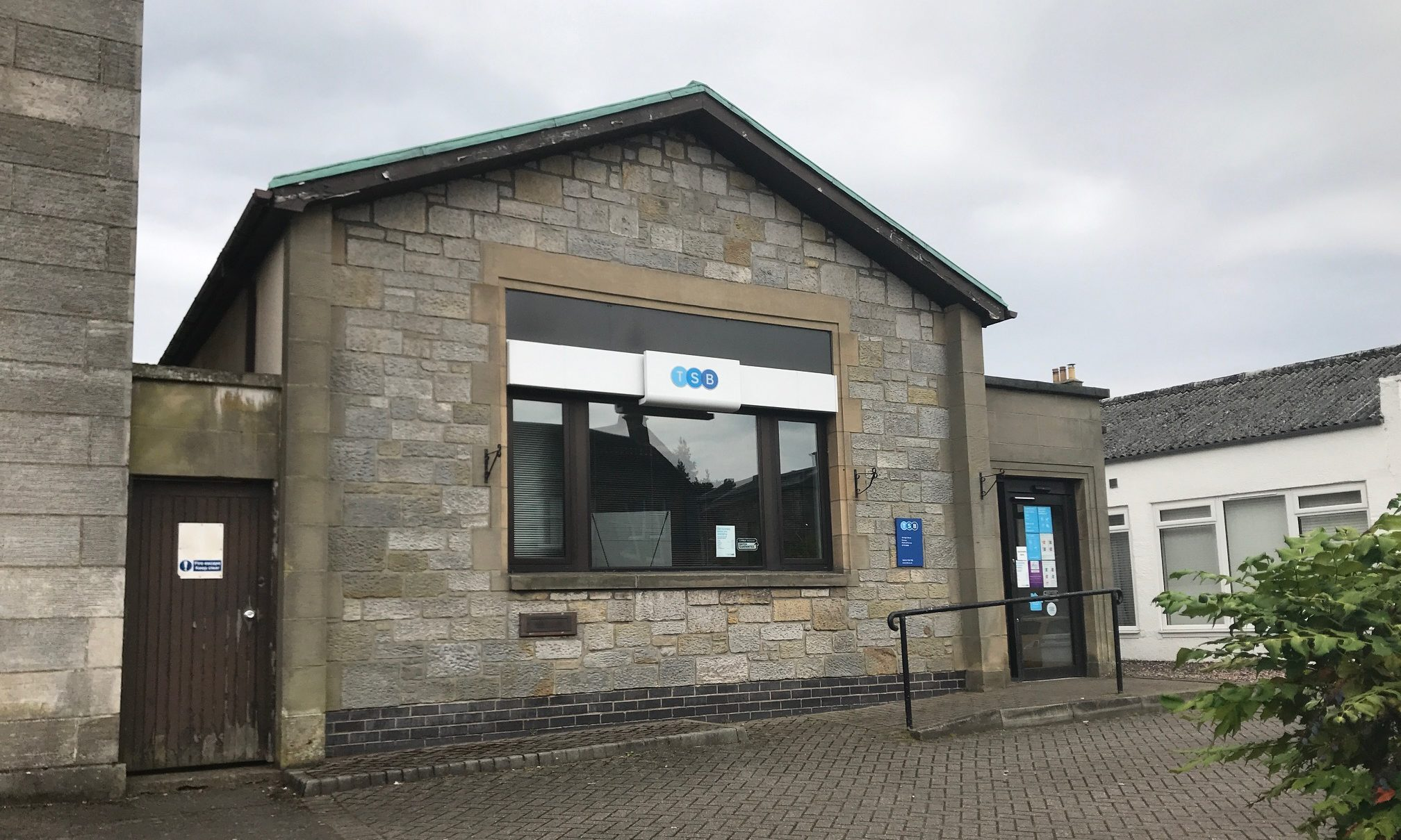 Kinross TSB will reduce its opening hours from four days a week to one from July 29.