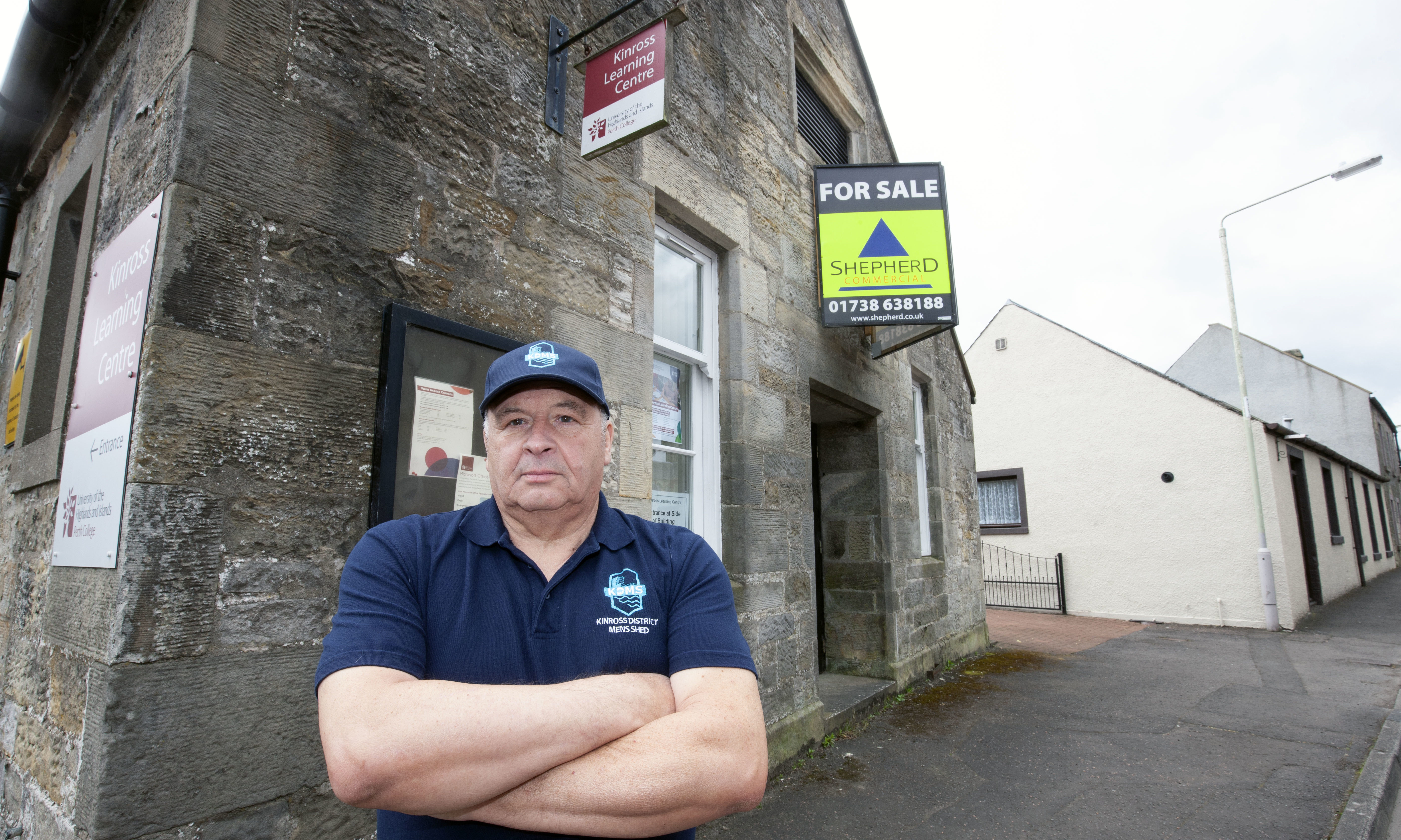 Roy Gilmour of Kinross and District Men's Shed confirmed the group are no longer trying to acquire the former learning centre.