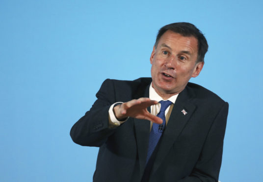 Tory leadership hopeful Jeremy Hunt said the immigration system should maintain access to permanent and seasonal workers for Scottish farming.