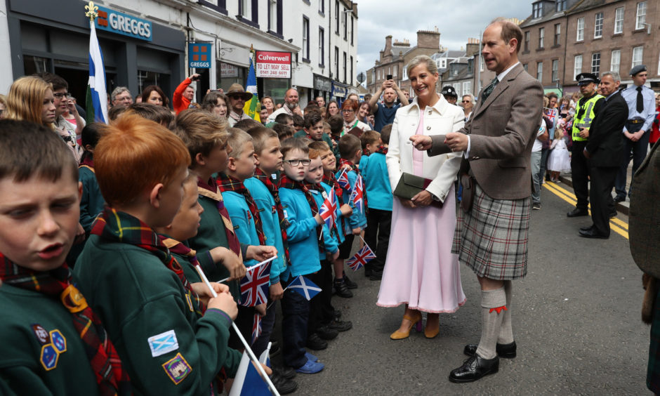 The Earl and Countess of Forfar.