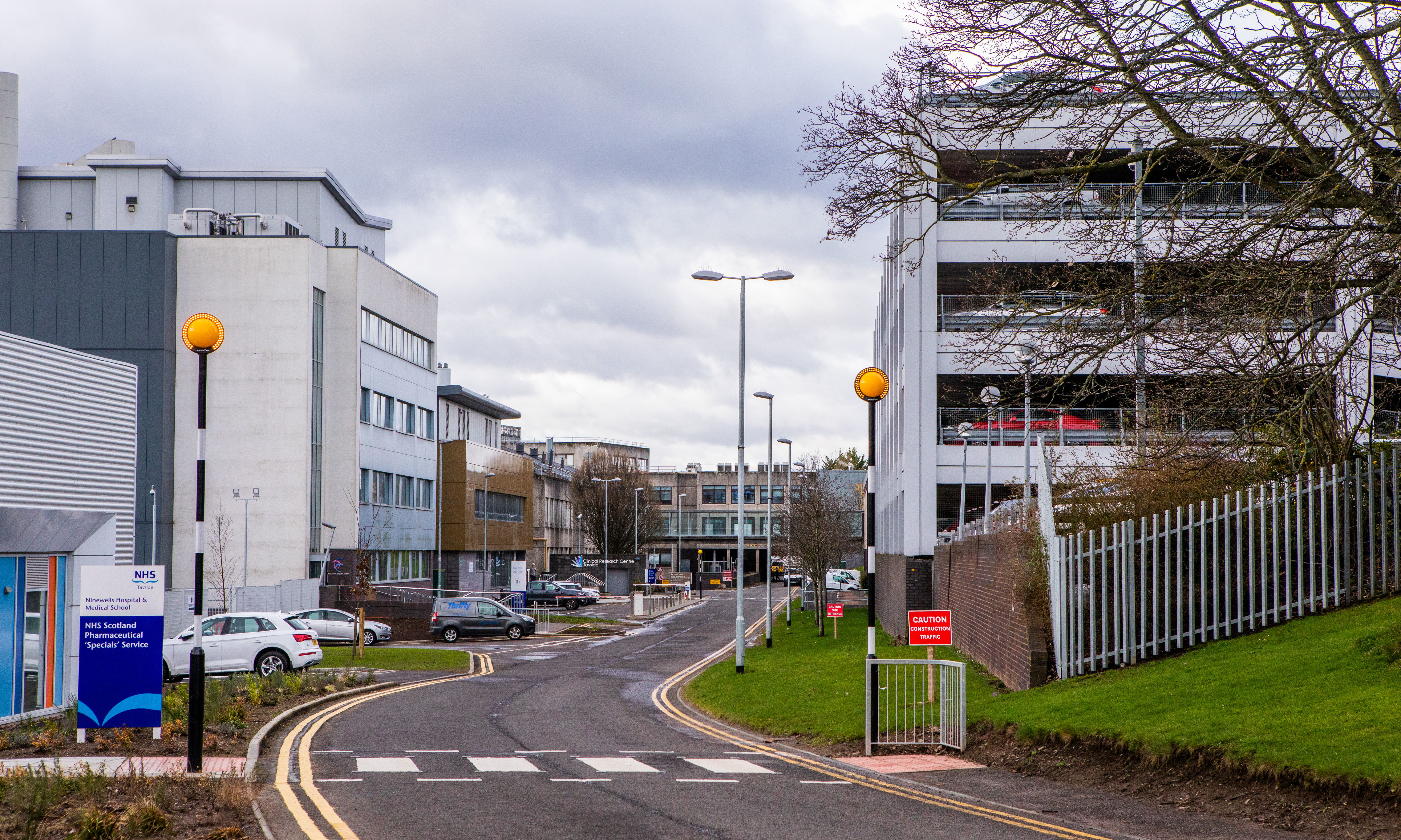 Ninewells Hospital - run by NHS Tayside.