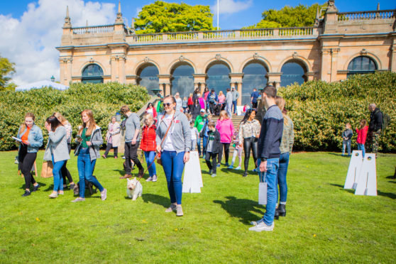 Baxter Park in Dundee, which recently hosted Doggy Fest, made the list