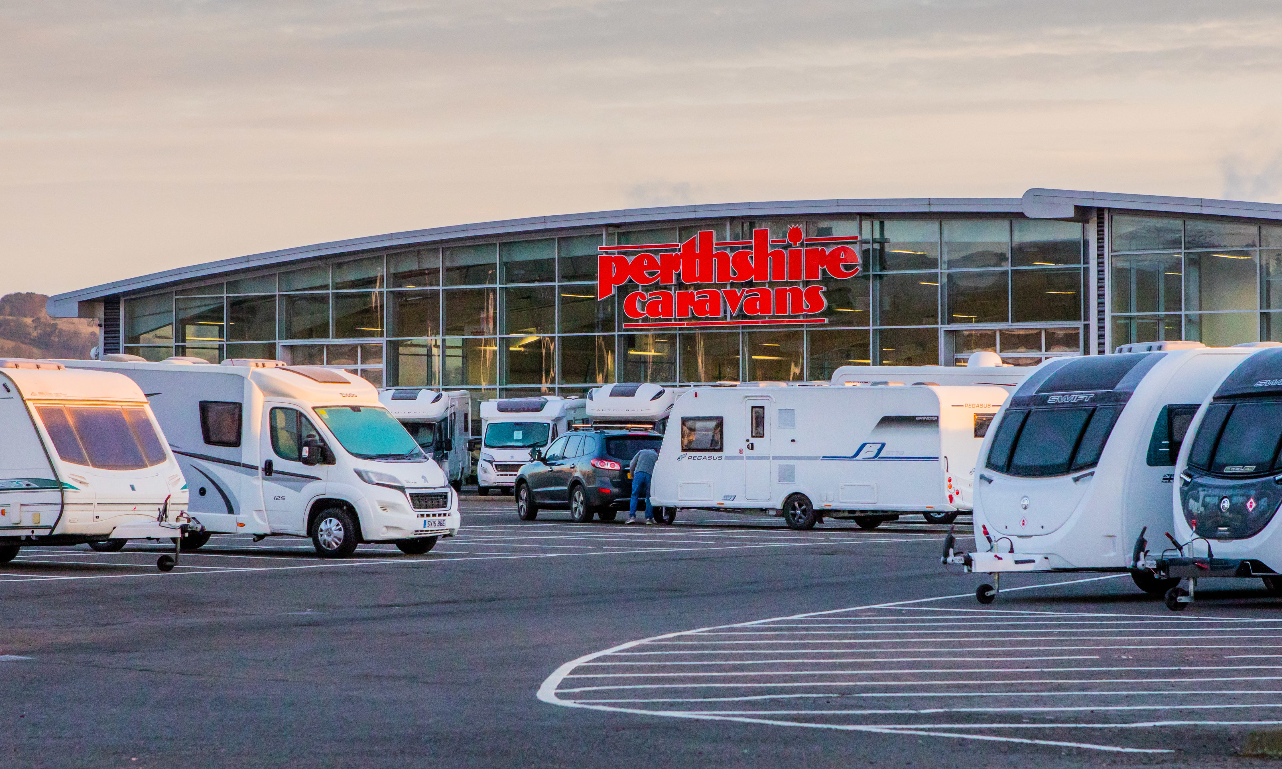 Perthshire Caravans.