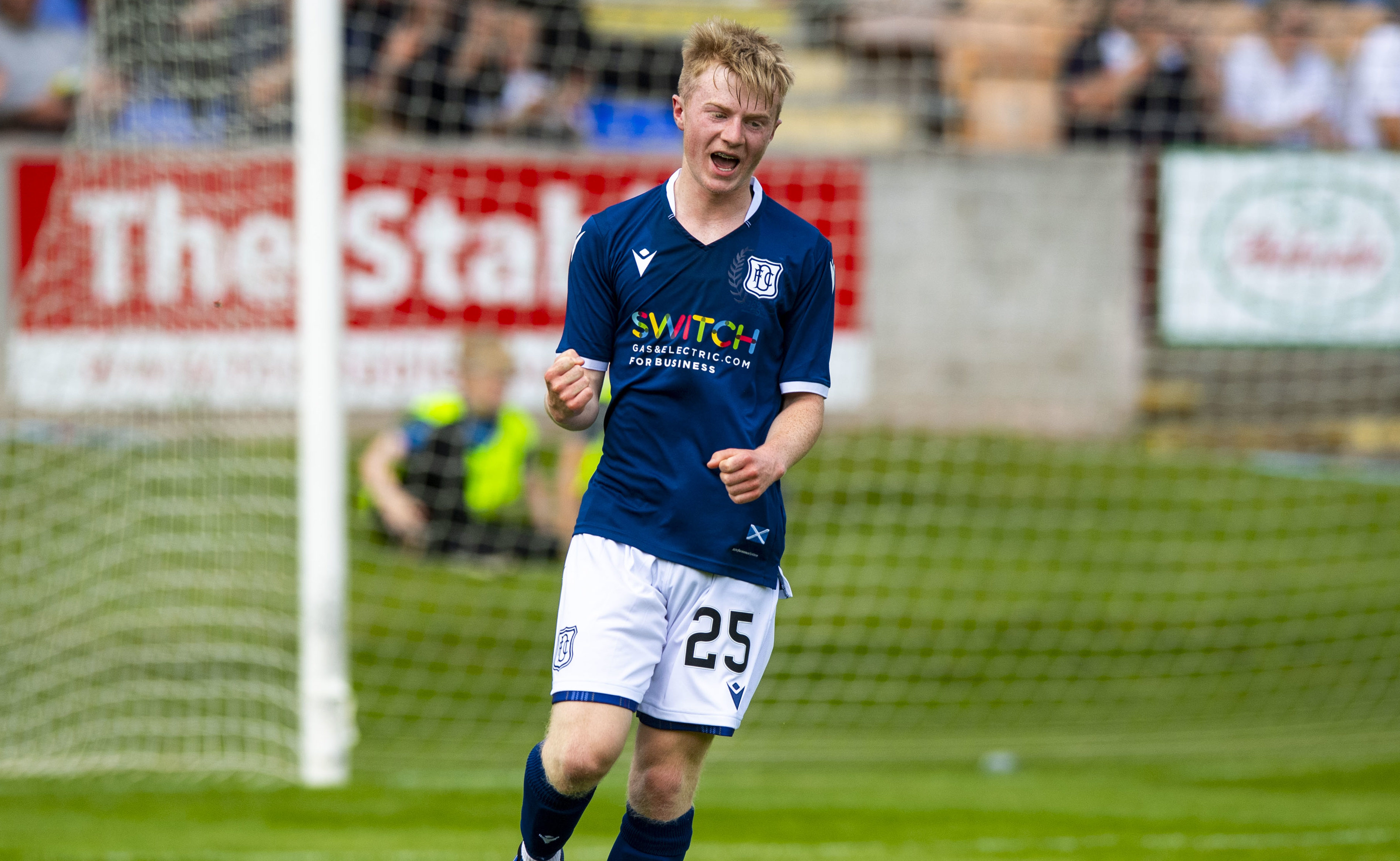 Lyall Cameron: just one of Dundee's bright prospects.