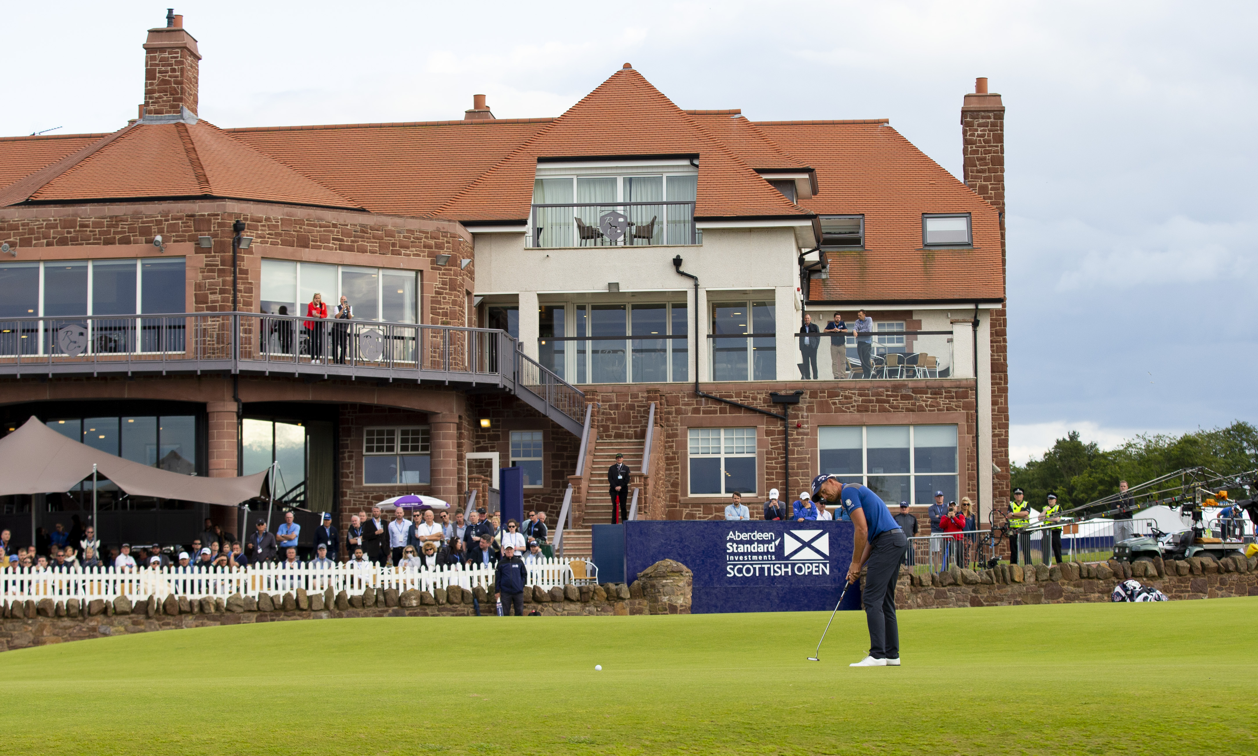 Fans will return to the ASI Scottish Open at The Renaissance.