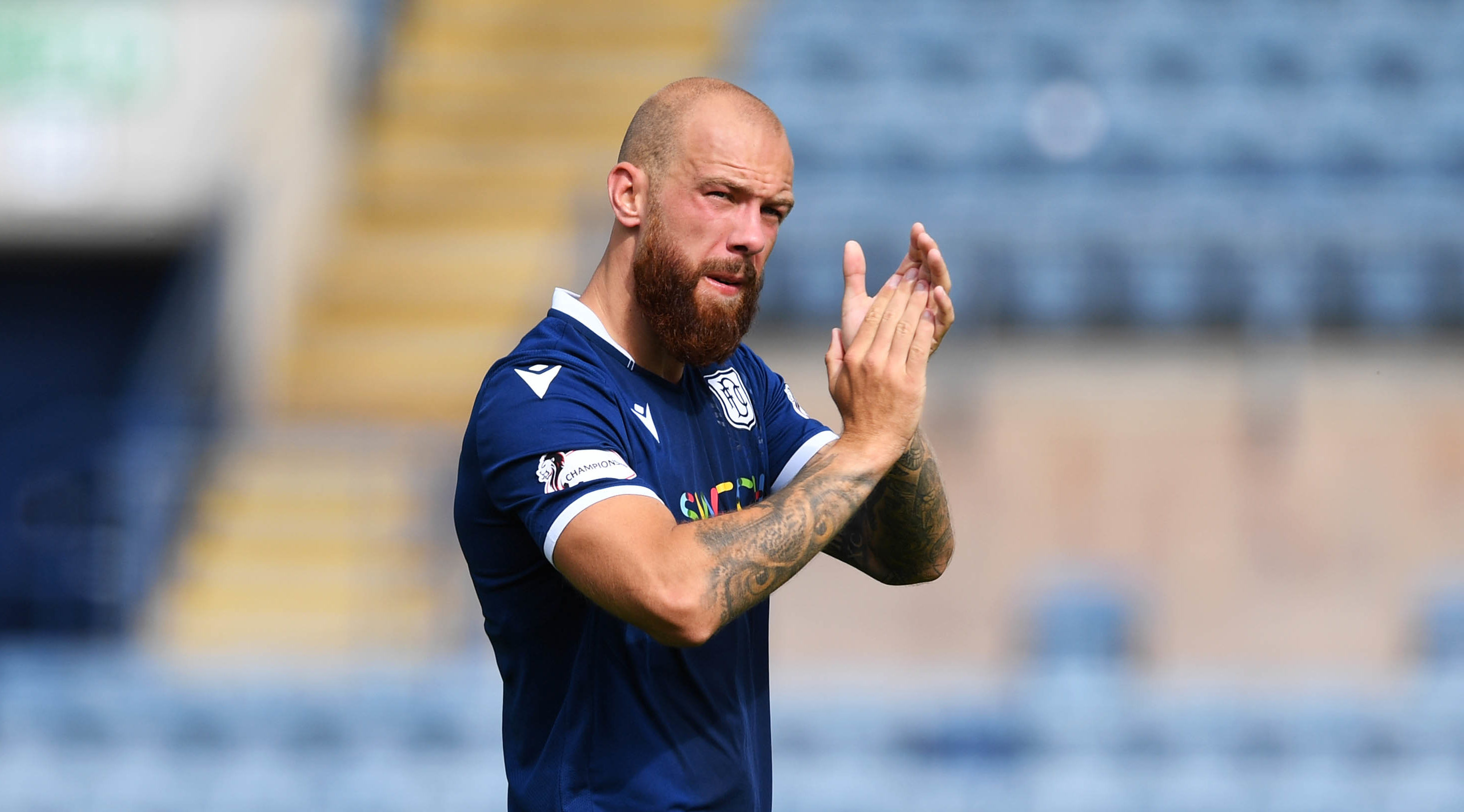Jordon Forster was optimistic about rest of season for Dundee after shaky start