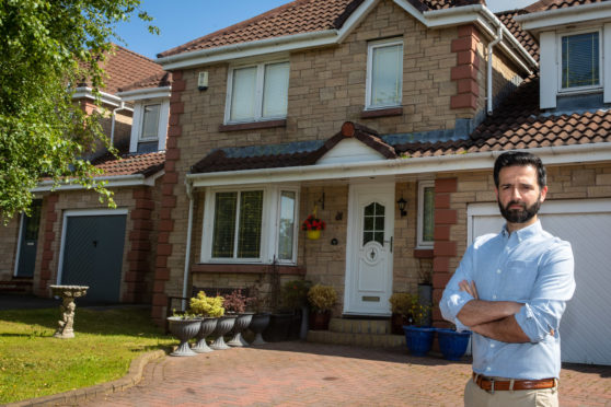 Tayside GP Babar Akbar, 31, has lost half ownership of his house in Dunfermline.
