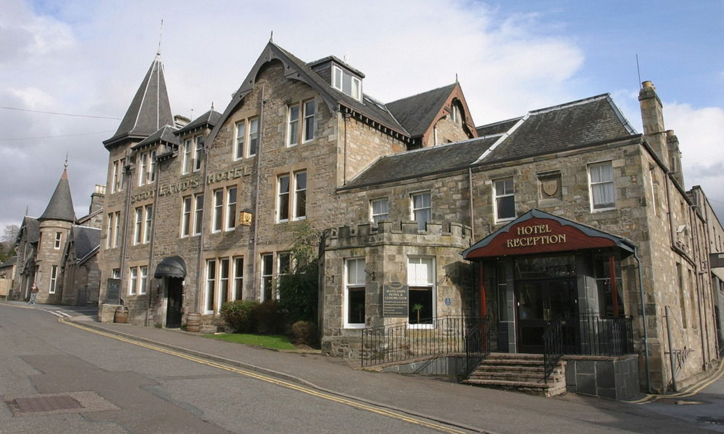 Scotland's Hotel in Pitlochry, which objected to the housing plan