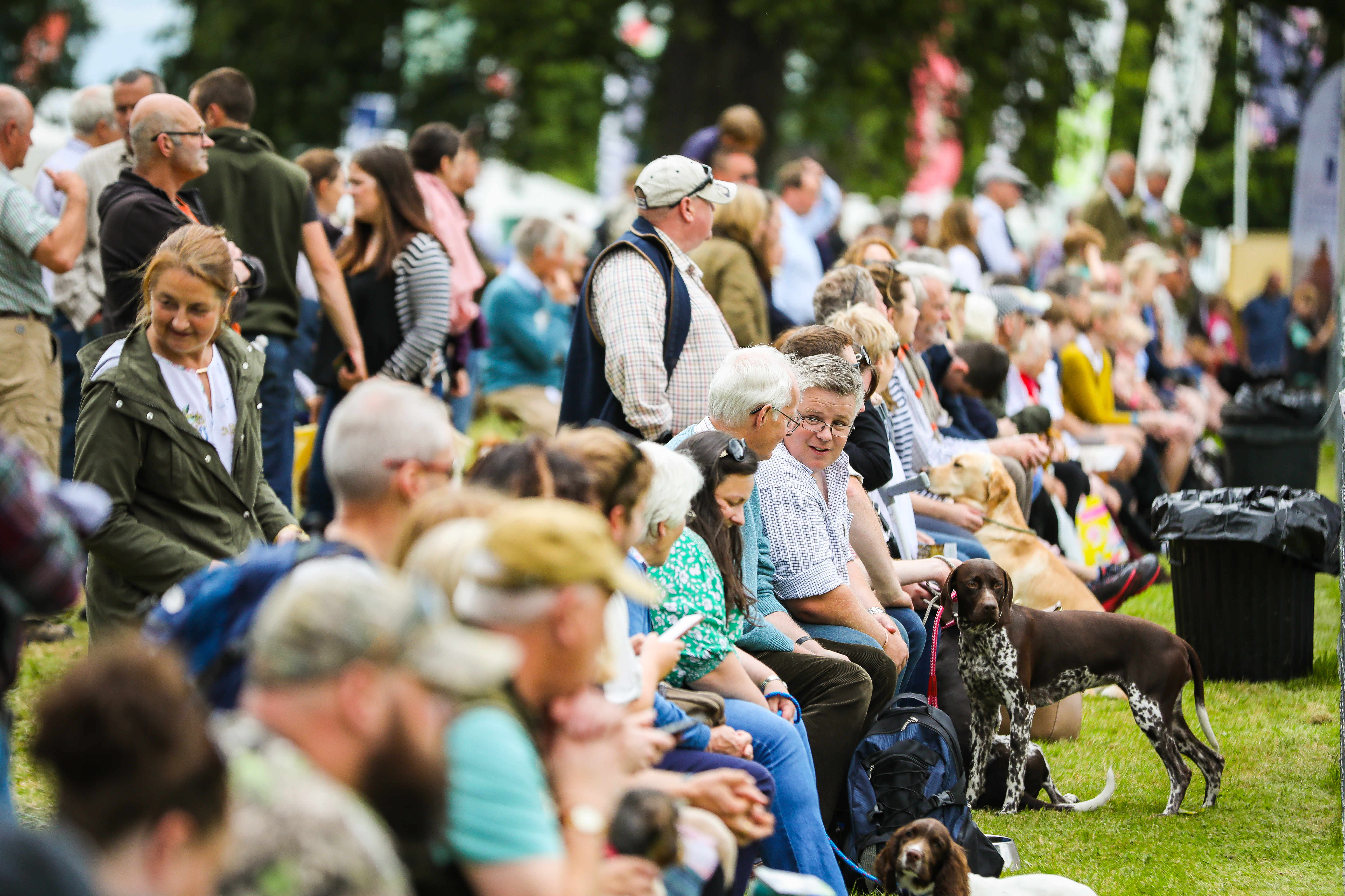 Crowds at the Scottish Game Fair
