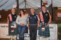 The triumphant Scottish shearing team  at the Lochearnhead event.