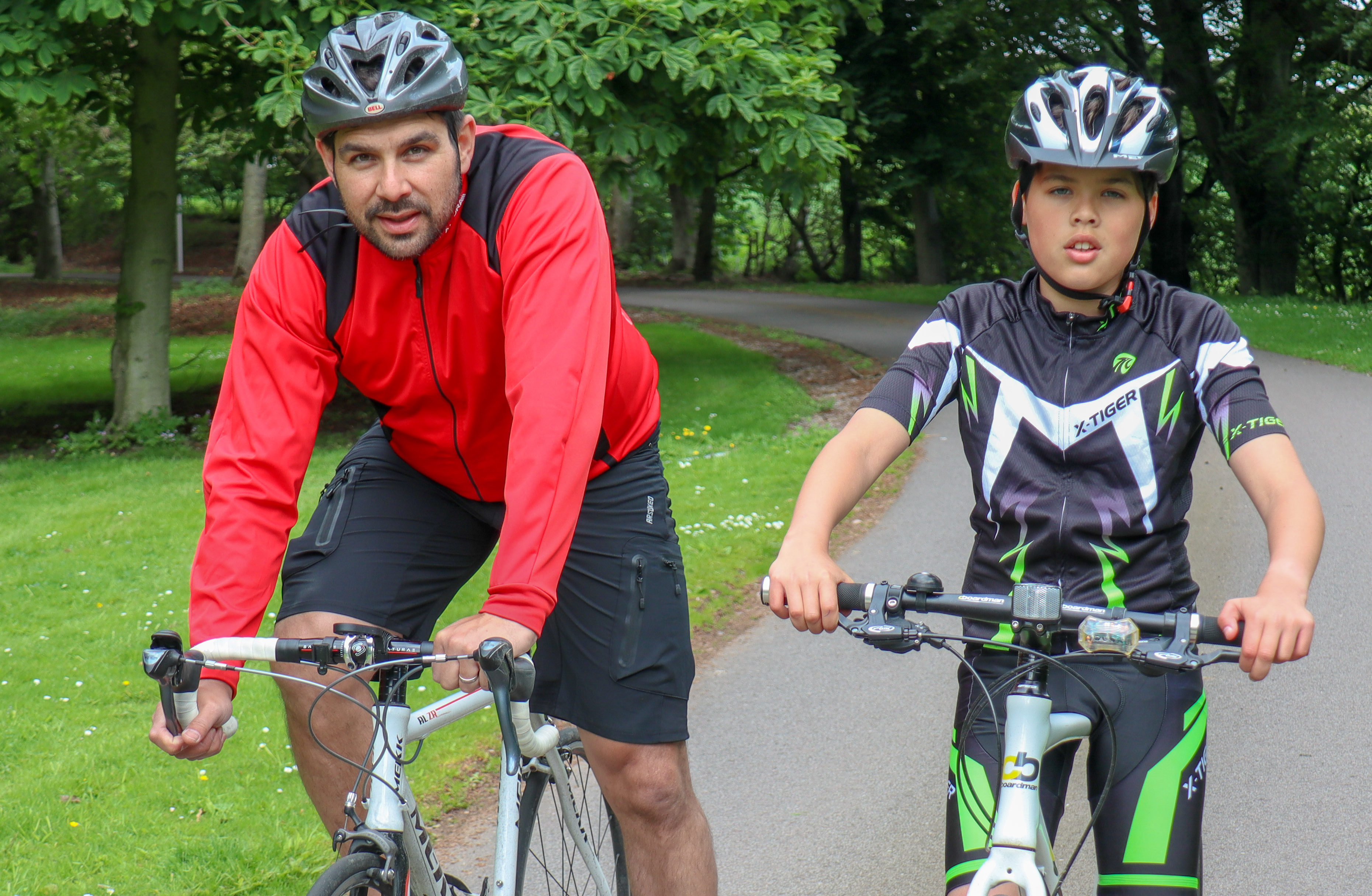 Shaun and Reuben Waddell are all set for their own epic 'Tour de France' later this month.