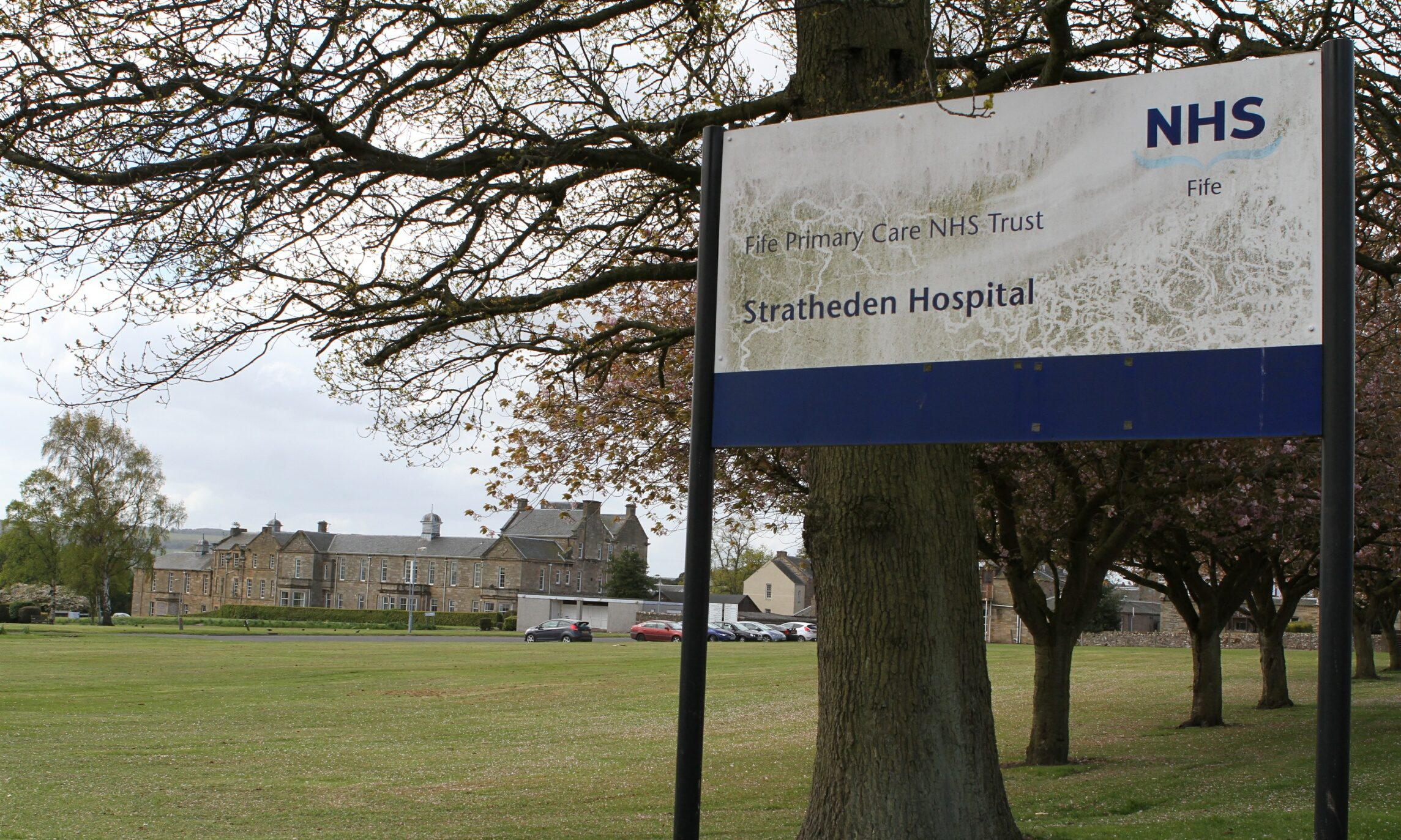 Intruders have been warned not to try and break into the derelict buildings at Stratheden Hospital.