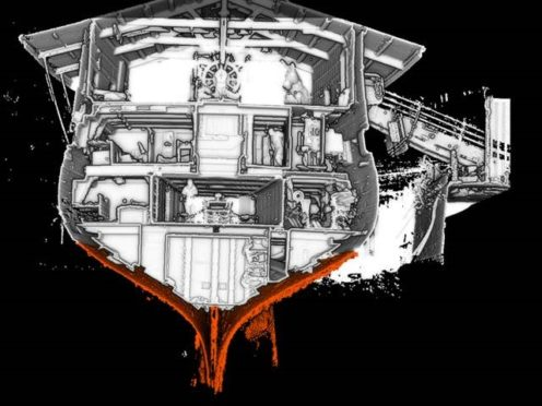 One of the HMS Unicorn scans.
