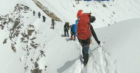 Footage from the final climb of Rupert Whewell.
