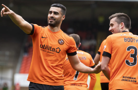 Rachid Bouhenna and Callum Booth will be leaving Dundee United.