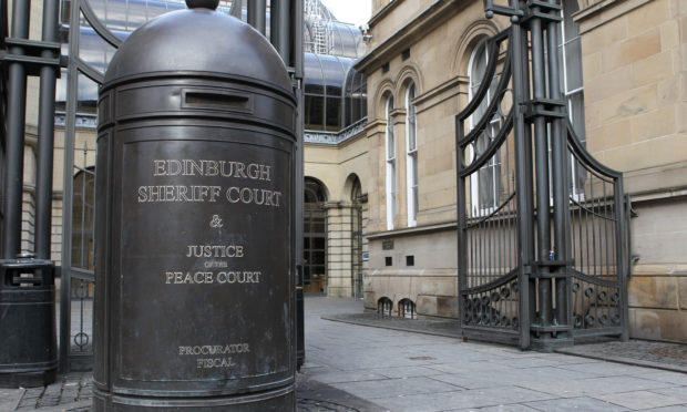 Edinburgh Sheriff Court.