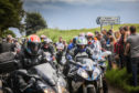 Hundreds of bikers from across Scotland turned out for the Steven Donaldson memorial ride last July.