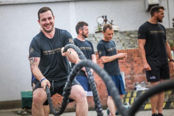 Former Soldier Ben Donnachie has set up the Warrior Academy of Rehabilitation in Fife.