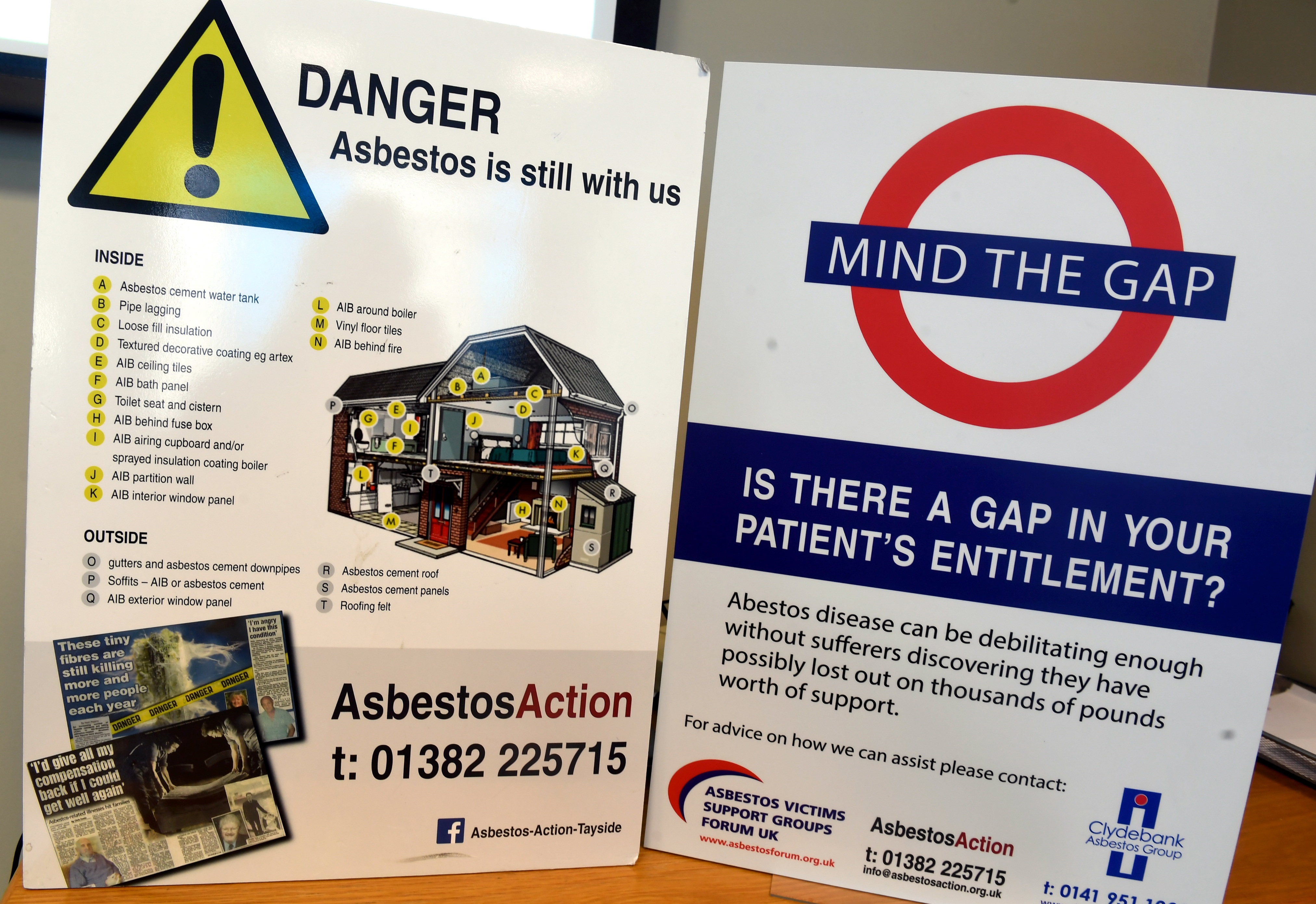 Asbestos Action was set-up to assist sufferers
