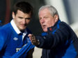 Lee McCulloch with Walter Smith.