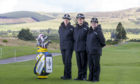 Superintendent Maggie Pettigrew, Chief Superintendents Sharon Milton and Suzie Mertes at the PGA Centenary Course, Gleneagles.
