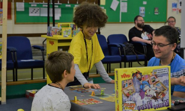 Gaming enthusiasts young and old are set to descend on the Dewars Centre this month.