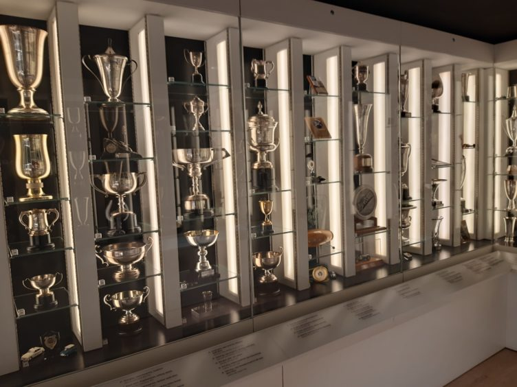 A remarkable collection of trophies is at the heart of the new museum.