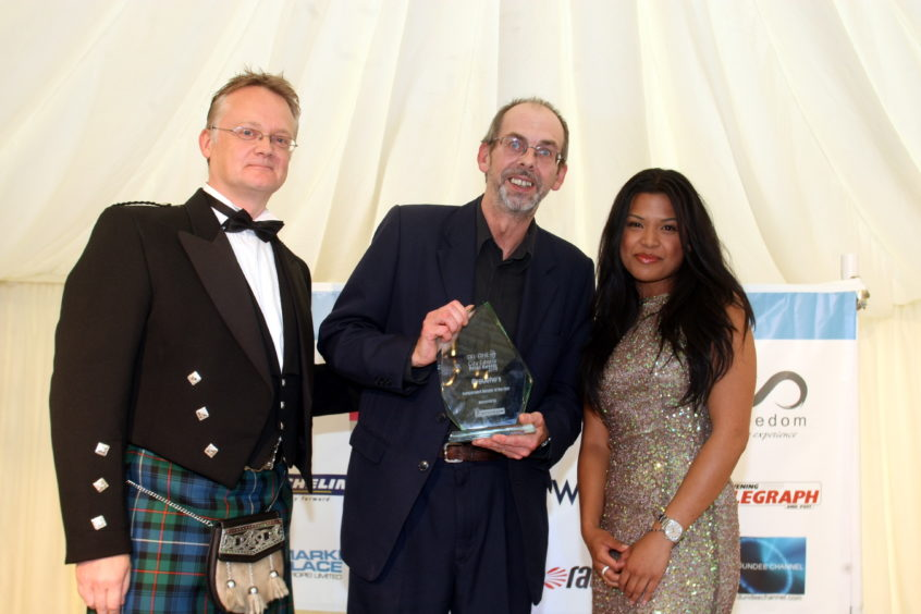 Dundee City Centre Retail Awards 2010 - where Groucho's Independent Retailer of the Year.