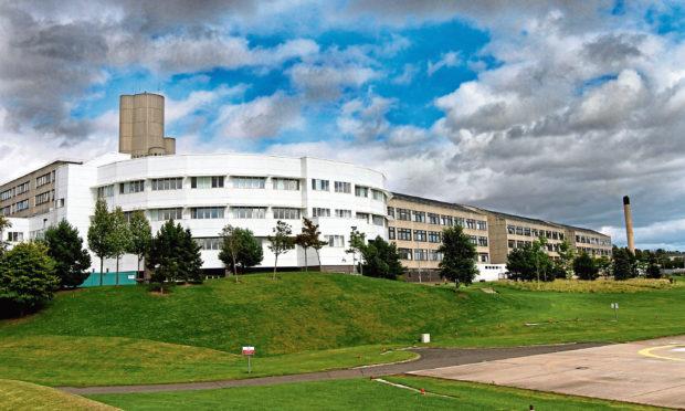 Ninewells Hospital in Dundee.