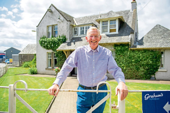 Robert Graham is optimistic about the future of Scottish dairy production.