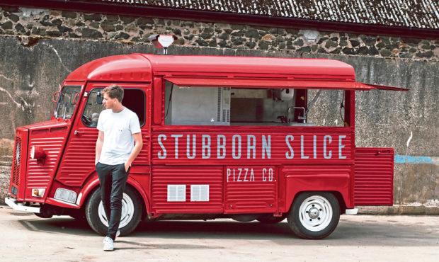 George Lorimer, owner of Stubborn Slice