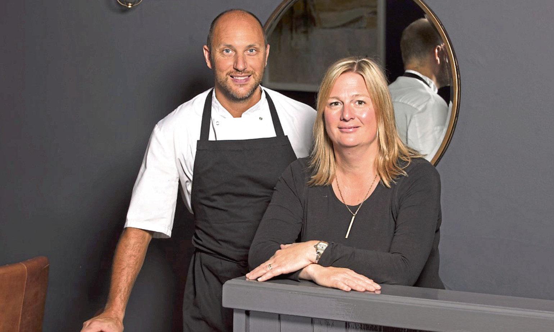 Craig and Vikki Wood of the Wee Restaurant.