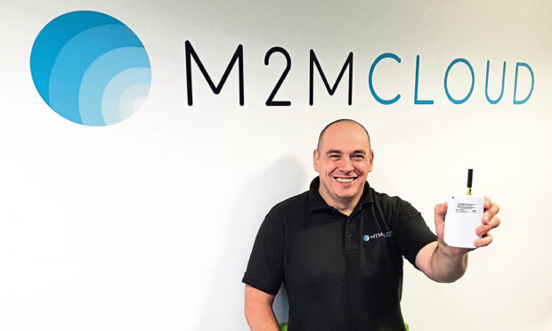 Scott Edgar, operations director at M2M Cloud