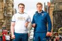 Ruairidh Orr Ewing, University of Edinburgh men's captain, and Jamie Morrison, University of St Andrews men's representative.