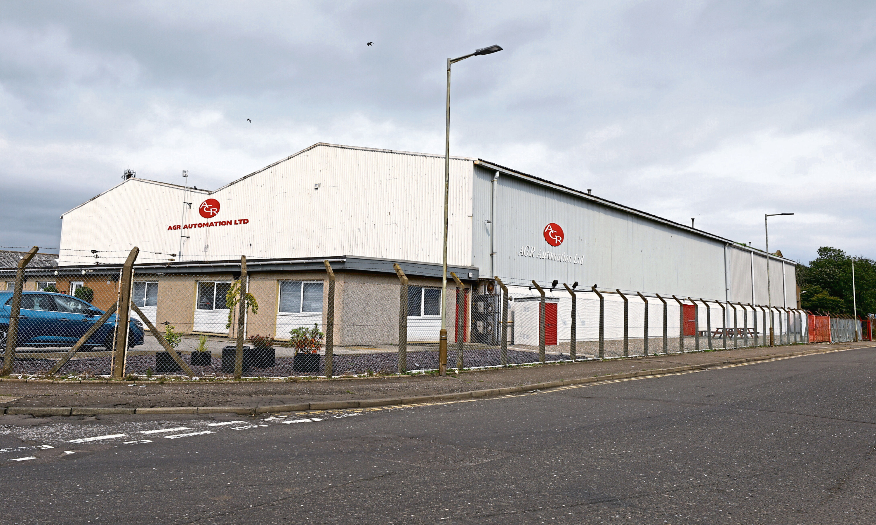 The AGR Automation premises at the Elliot Industrial Estate in Arbroath.