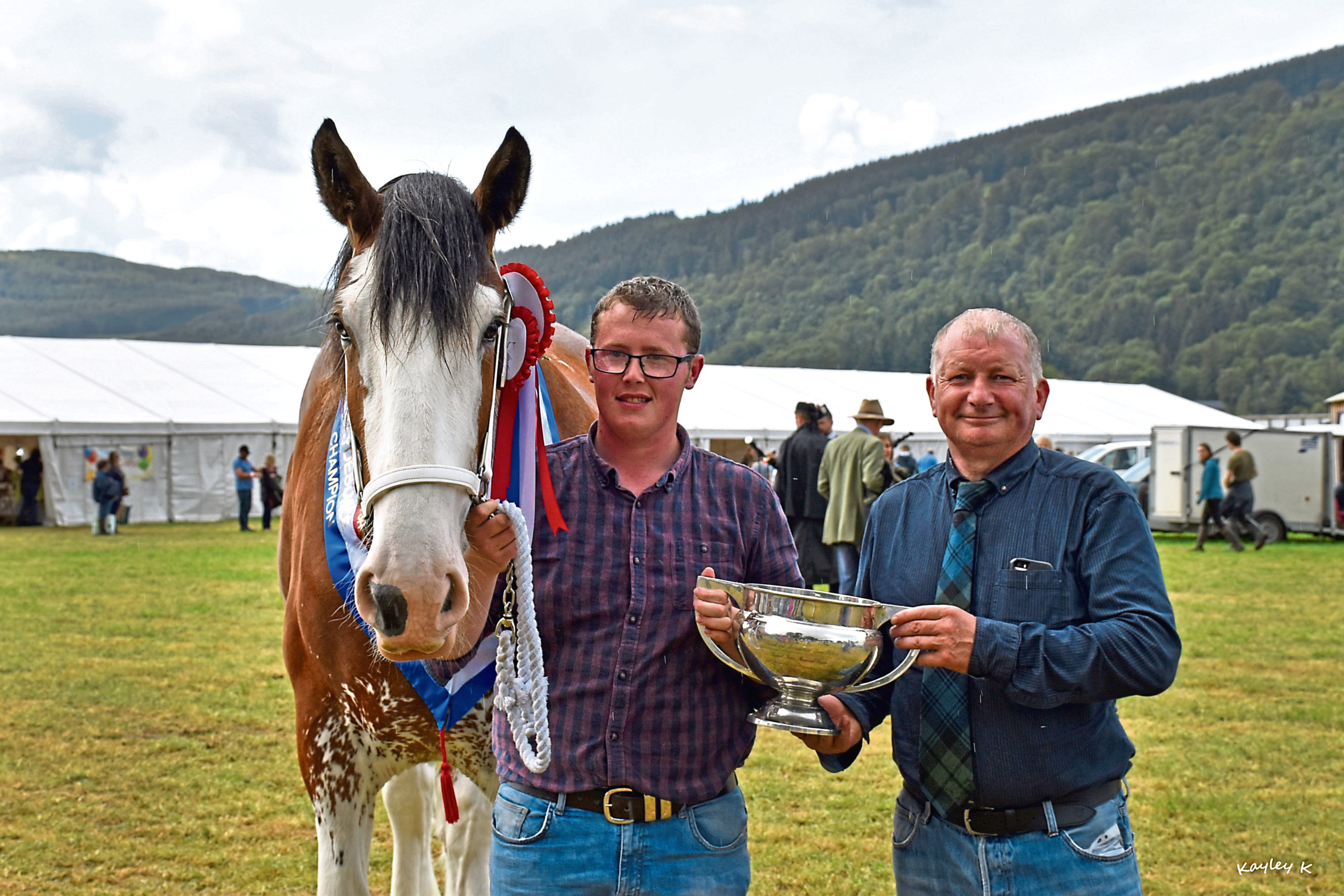 The Clydesdale winner went on to become champion of champions at Aberfeldy.