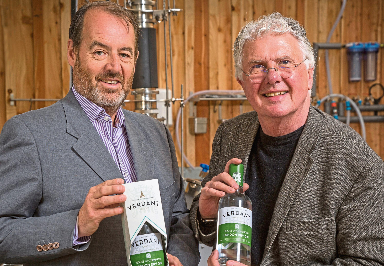 Scott McCallum of Avian and Andrew Mackenzie of Verdant Spirits.