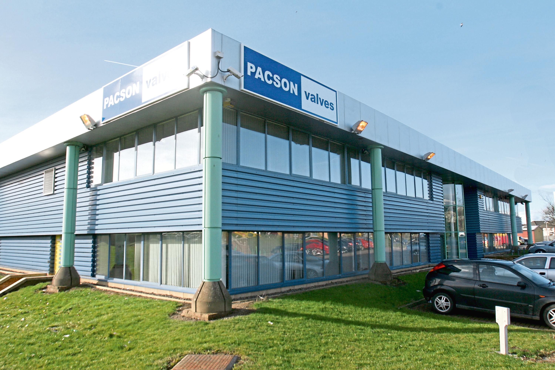 Pacson Valves, Claverhouse Industrial Park, Dundee.