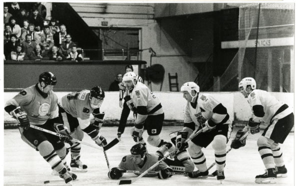 Dundee Tigers in action in 1989.