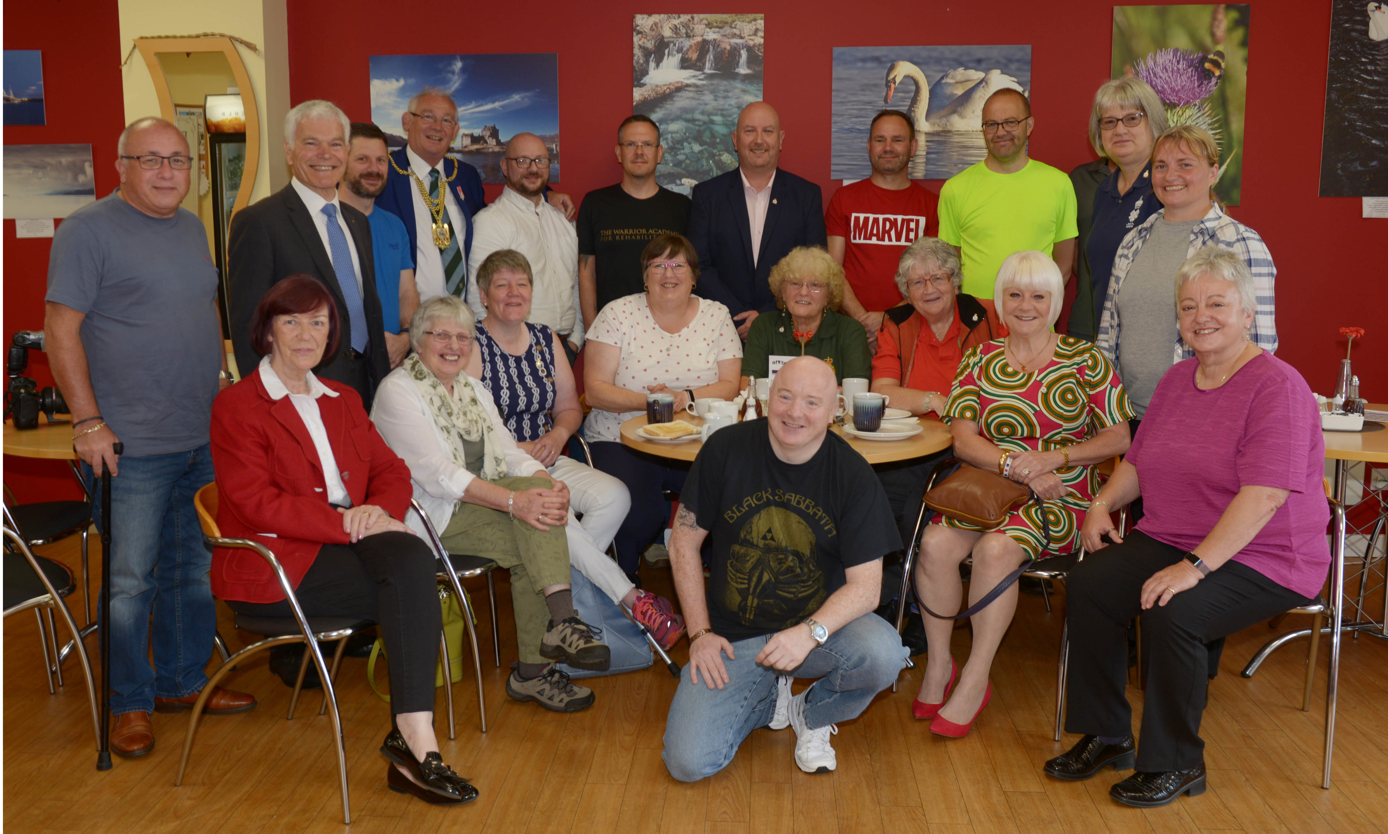 The Armed forces and Veterans Breakfast Club.